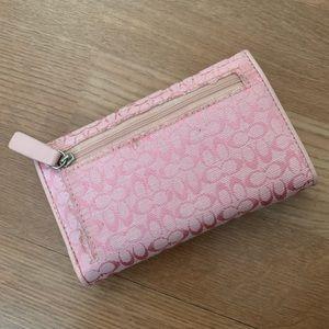 Coach Bags - Light Pink Coach Small Wallet